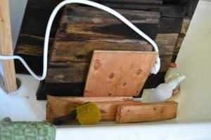 deciding I want a platform top construction repurpose wood