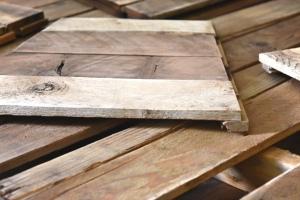 first sanded redwood